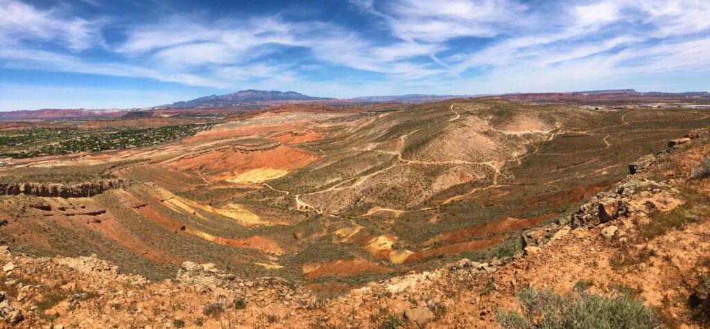 View of Aspiration Trail, Southern Utah