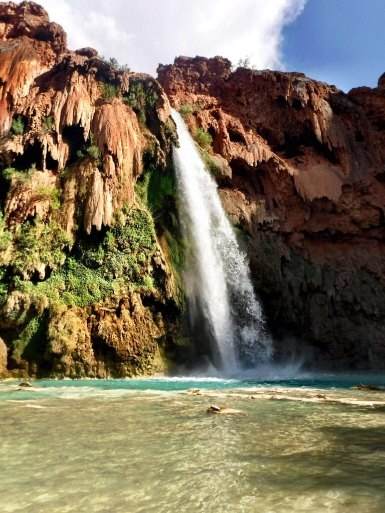 Havasu Falls waterfall The Grand Canyon, Arizona