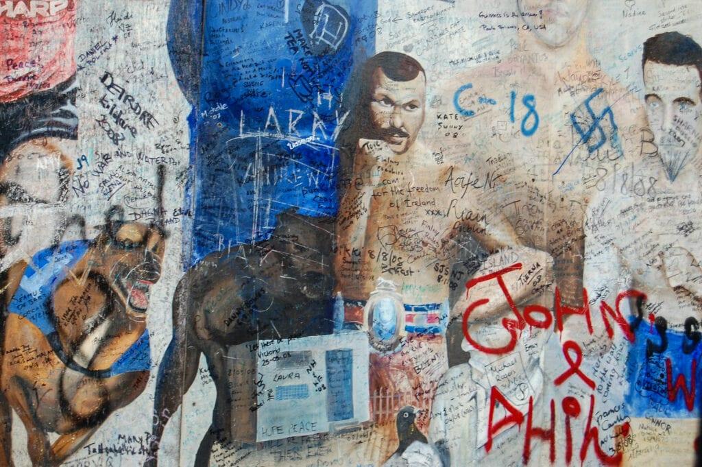 Belfast, Ireland graffiti art