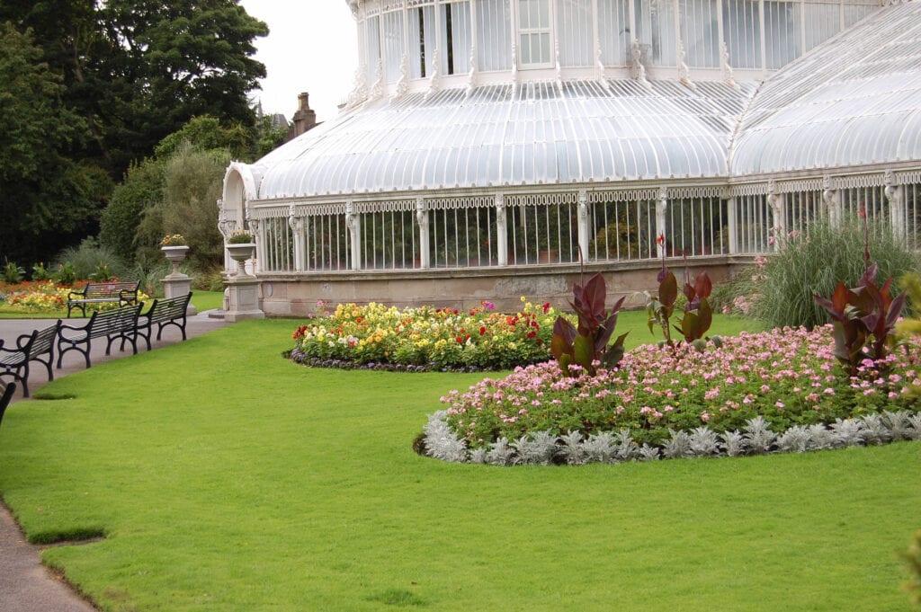 Botanical Gardens in Belfast, Ireland