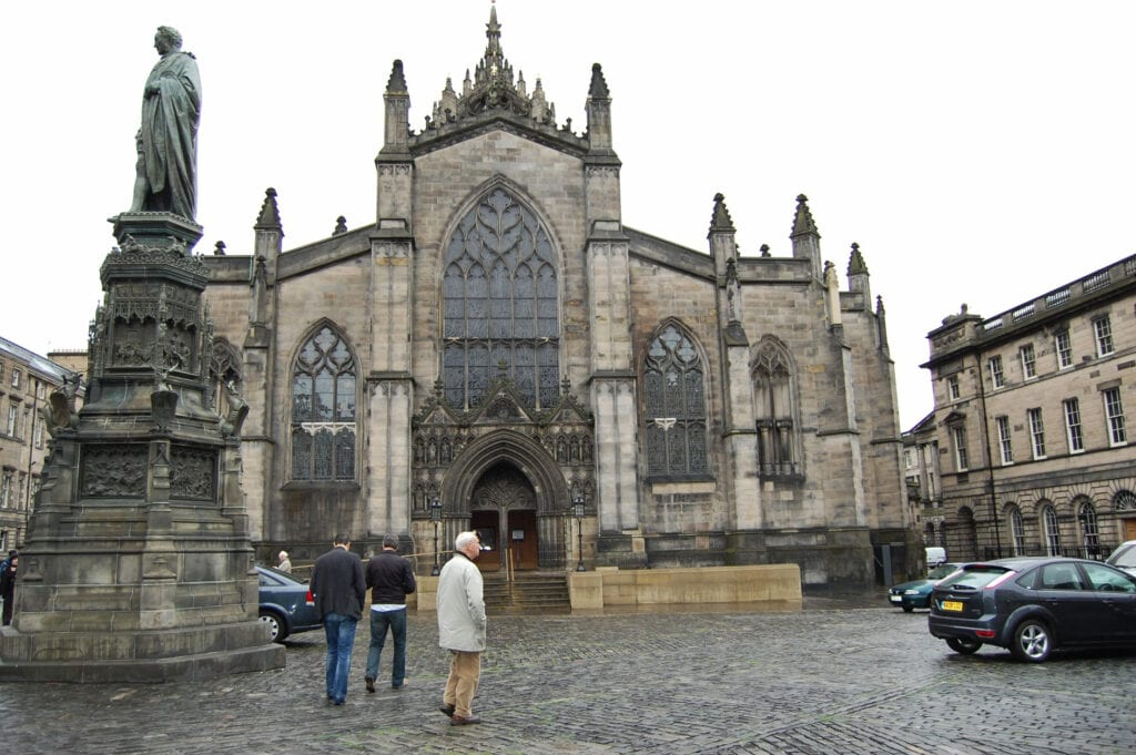 St Giles' Cathedral Church Scotland