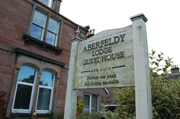 Aberfeldy Lodge Guest House in The Highlands, Scotland