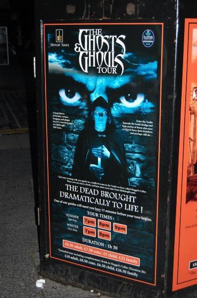 Ghost tour scotland