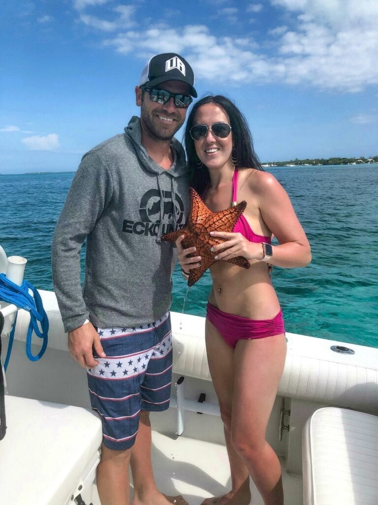 starfish bahamas