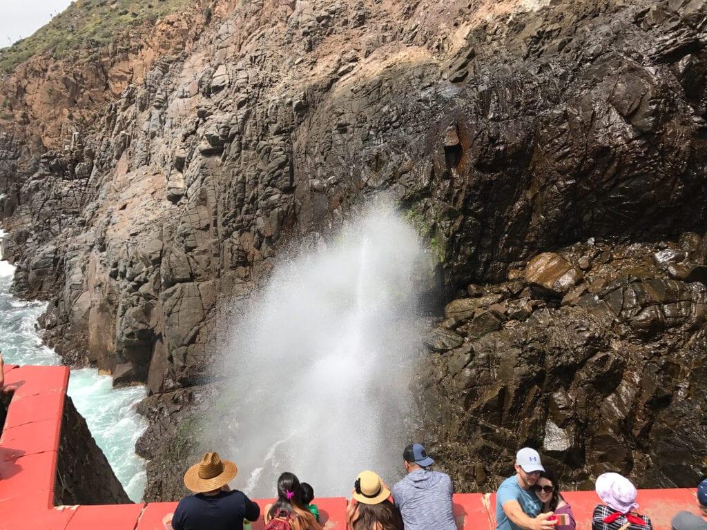 La Bufadora Blow Hole, Mexico