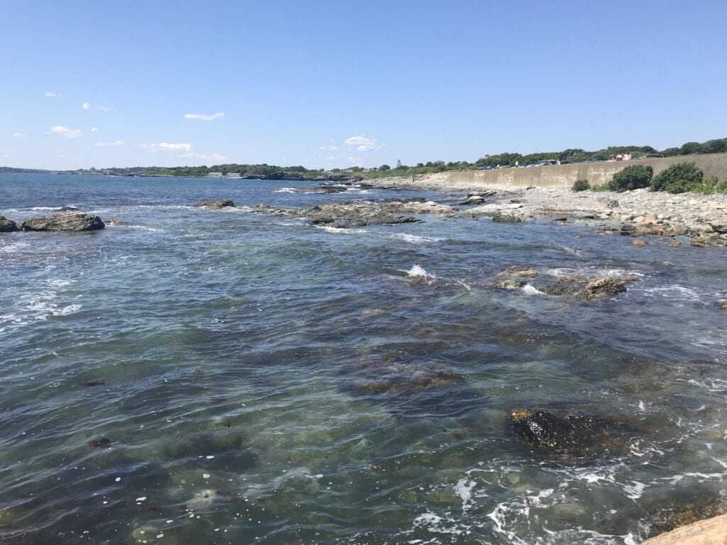 Gooseberry Beach in Newport, RI