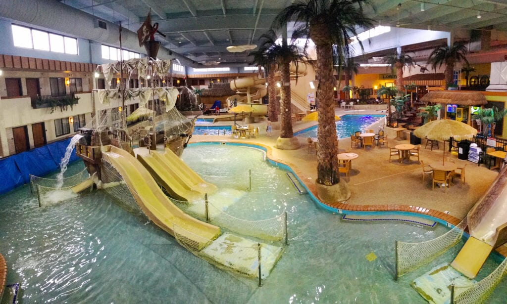 waterpark inside Ramada Sioux Falls SD