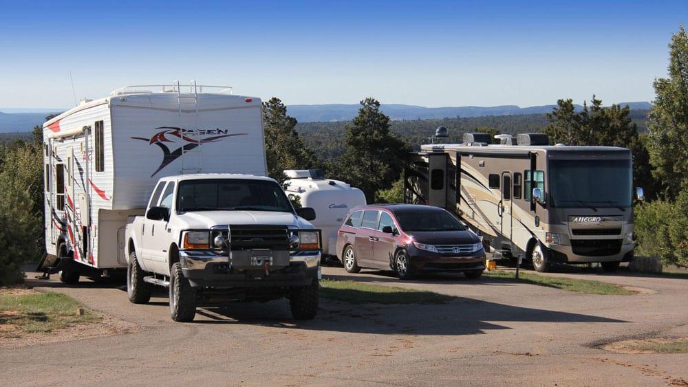 RV Campground Zion Ponderosa