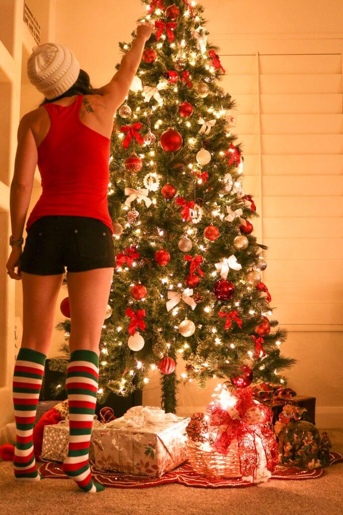 Christmas Socks Standing