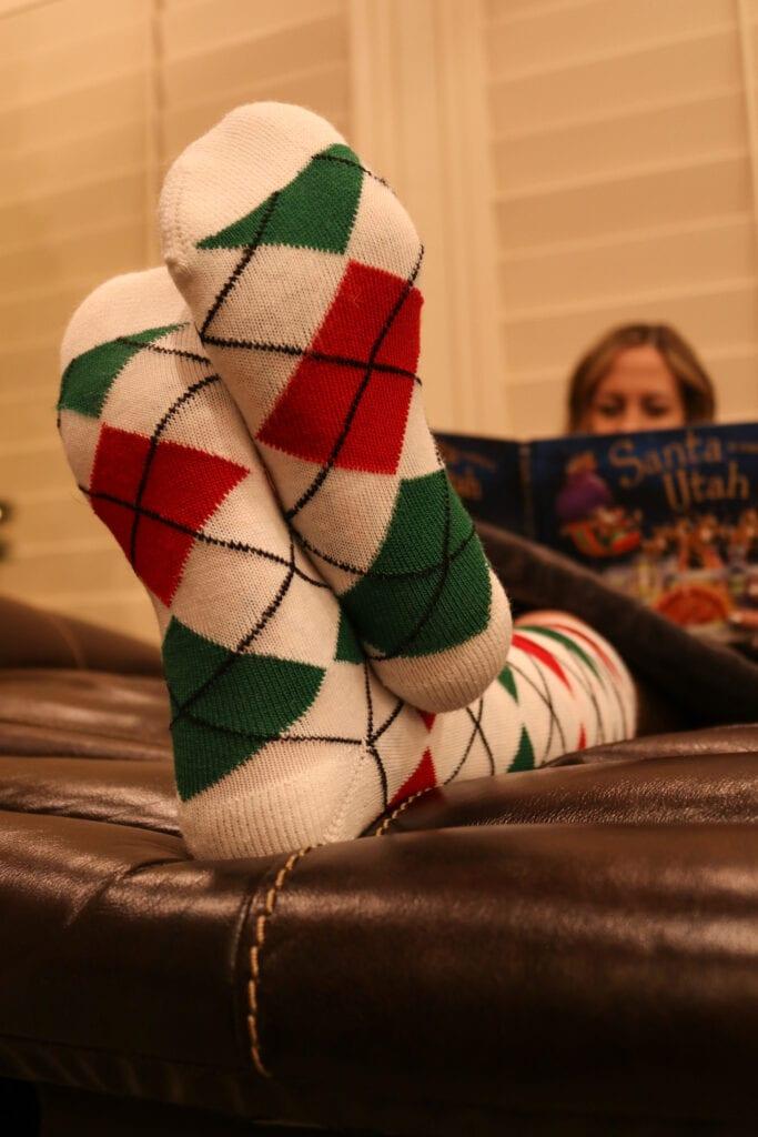 Christmas Socks book