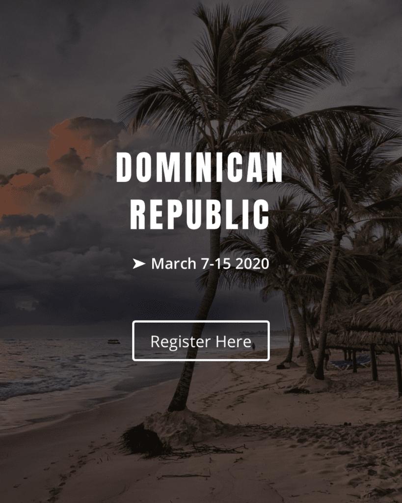 Dominican Republic humanitarian trip