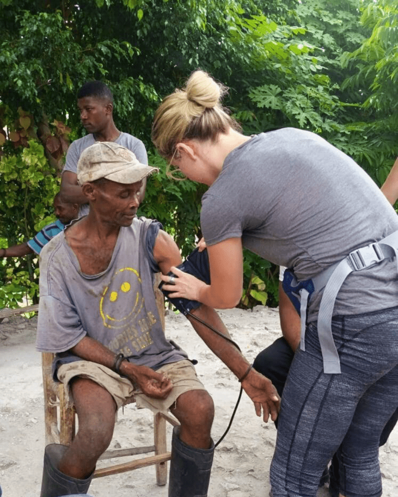 doctor on humanitarian trip