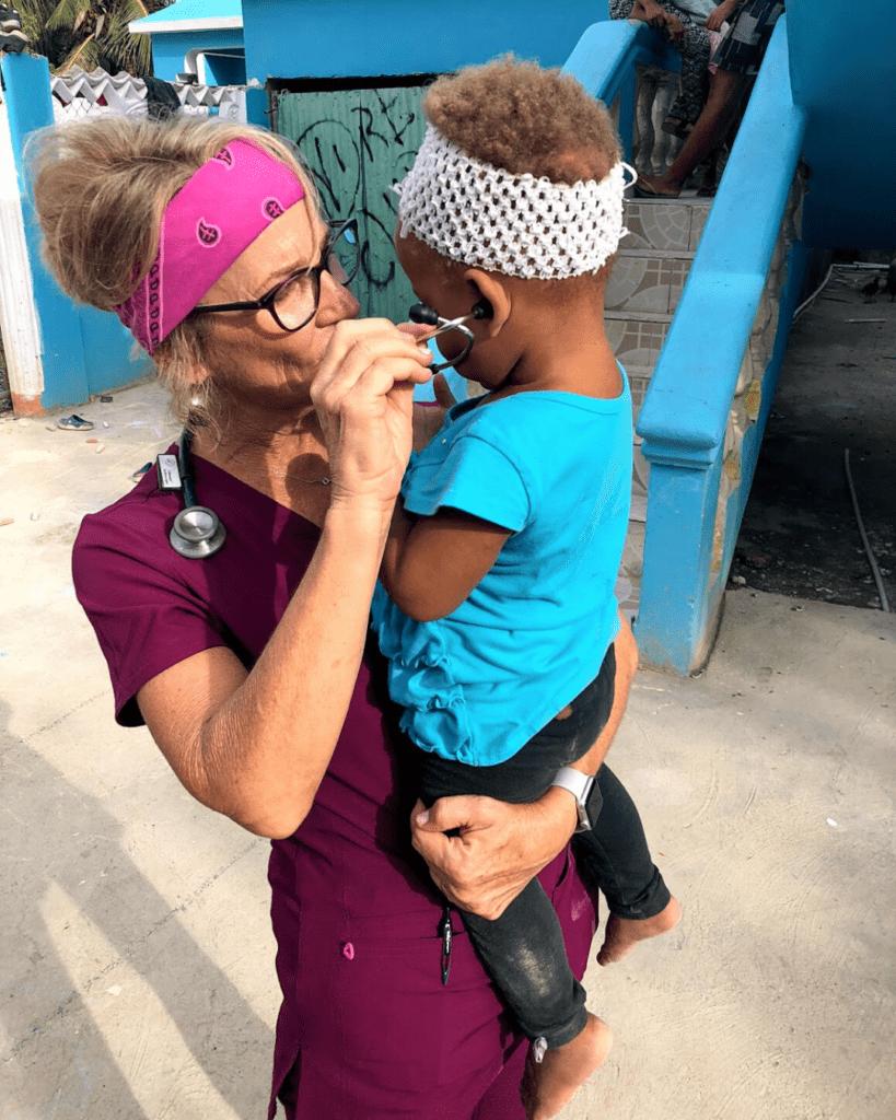 doctor serving in village