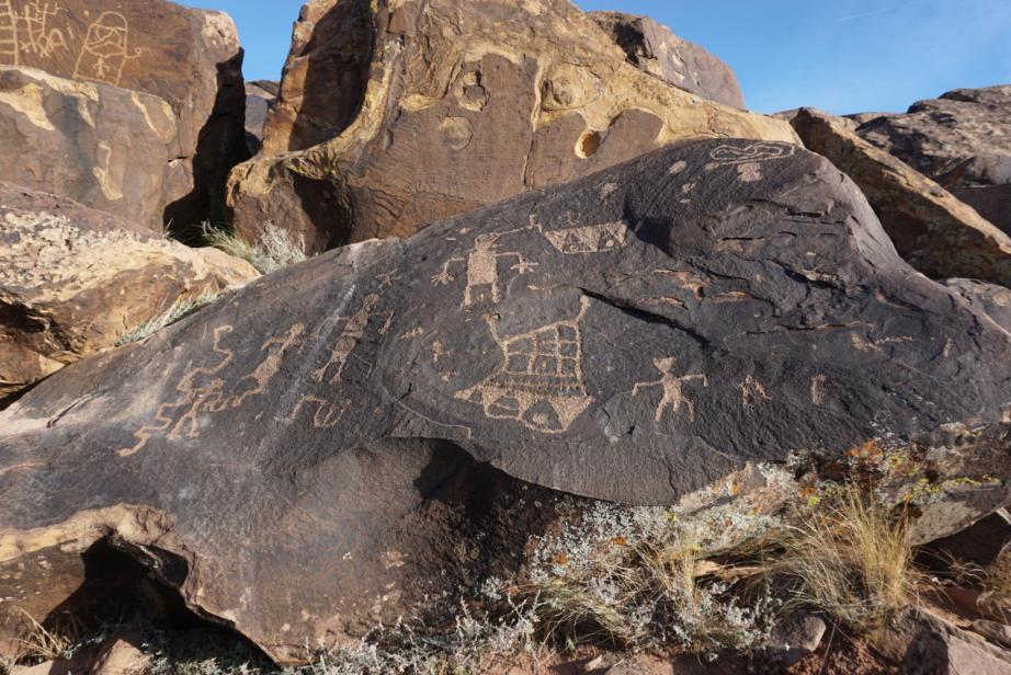 petroglyphs anasazi trail