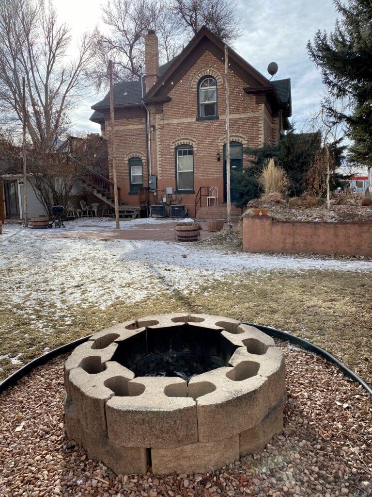 Monroe Inn firepit