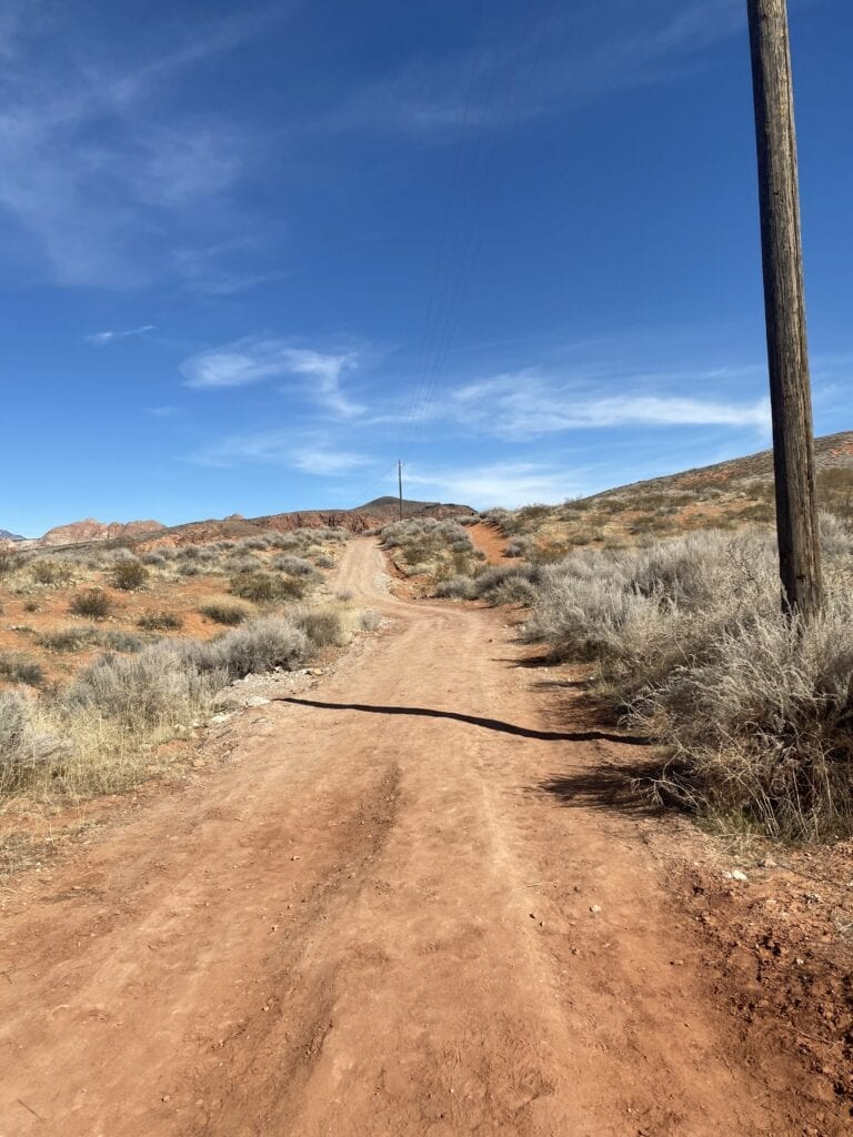 bone wash trail to elephant arch
