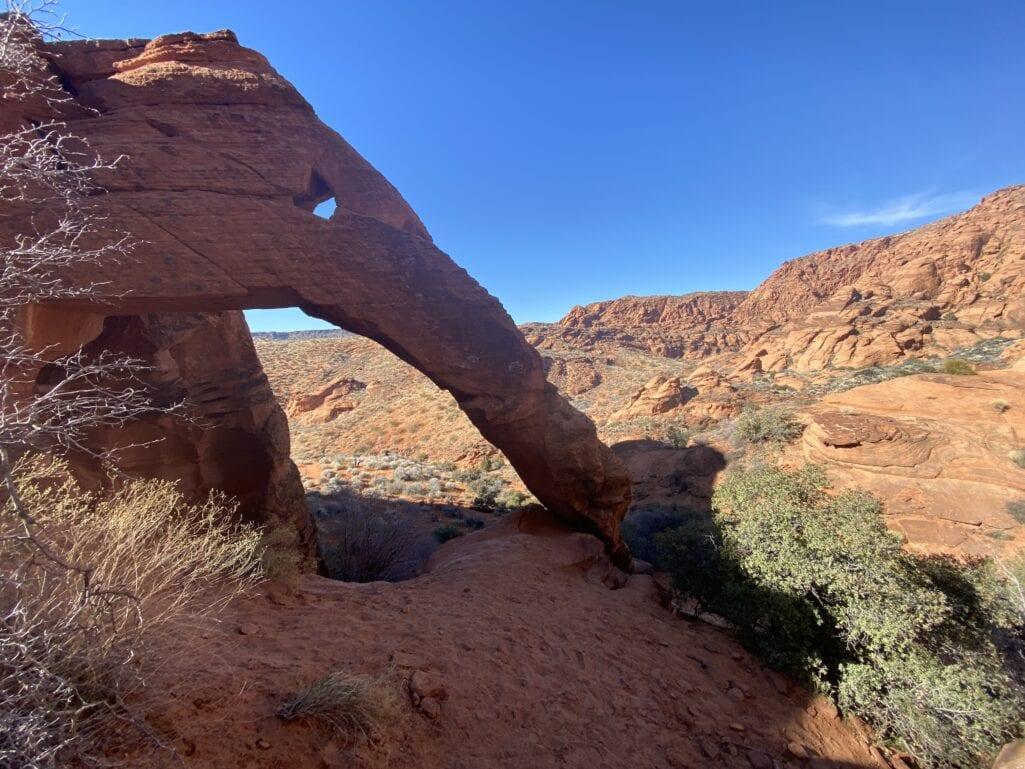 Elephant Arch Trail Utah
