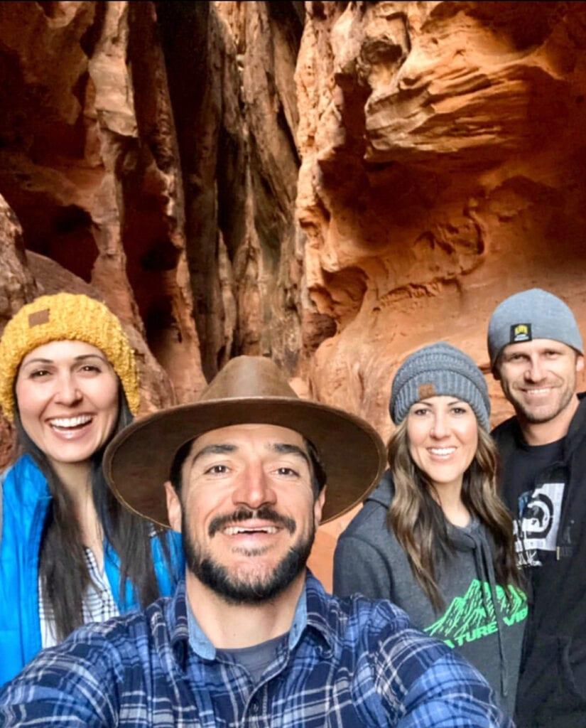 influencers hiking
