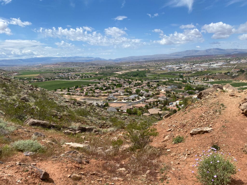 Views from Shinobe Kibe Trail Utah