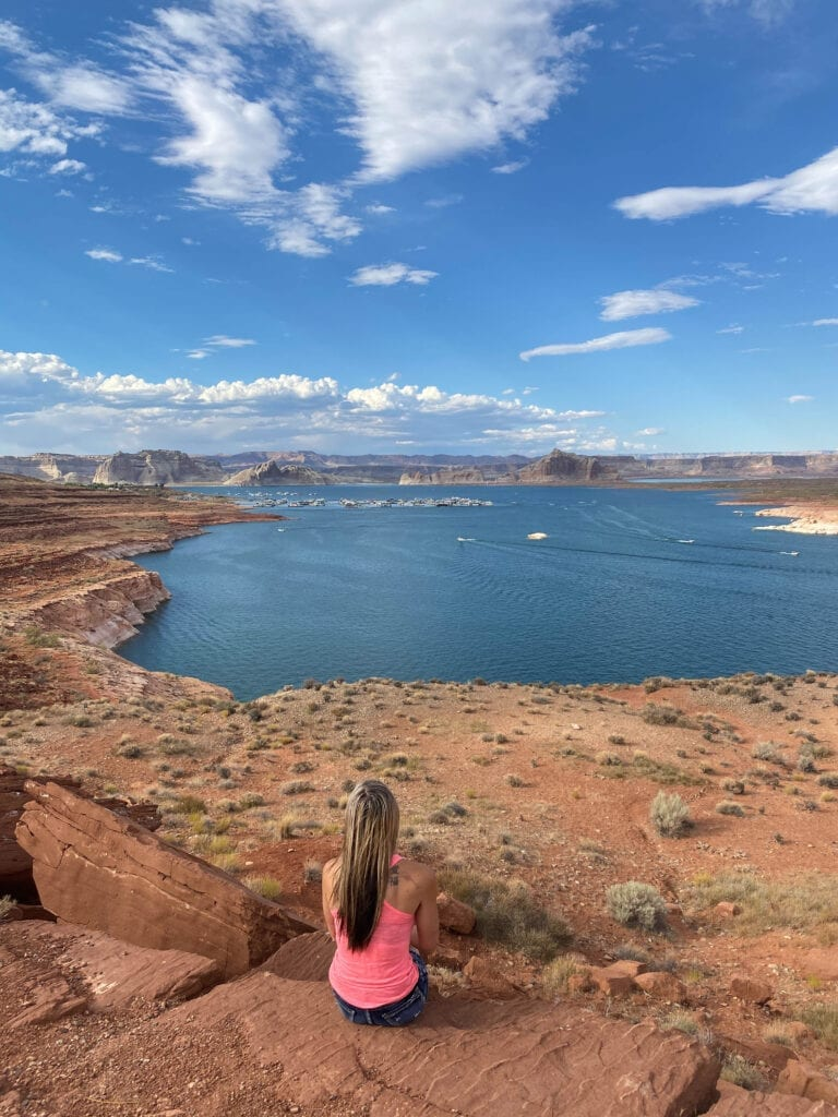 Wahweap Overlook Arizona