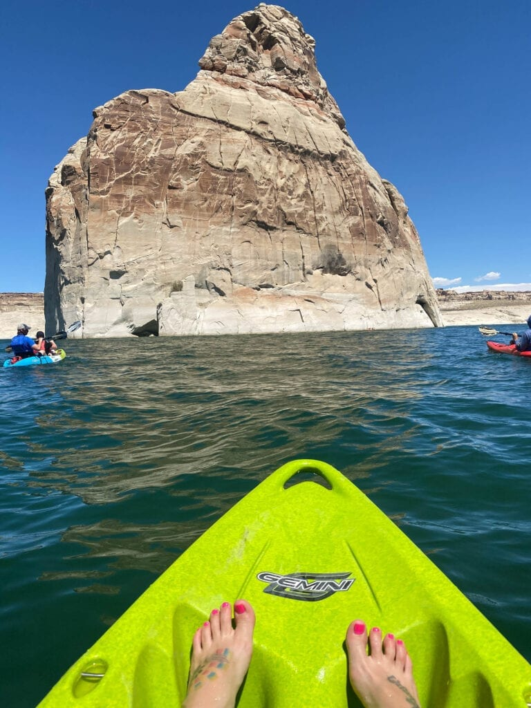 Kayaking Lake Powell