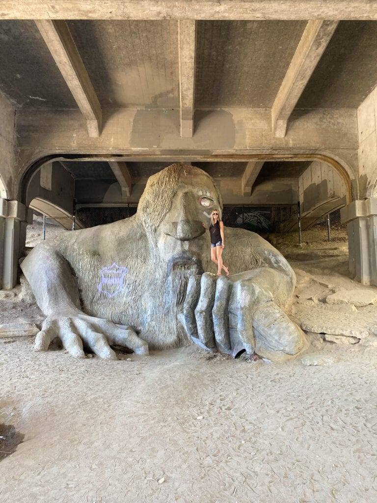 Seattle Troll Under The Bridge