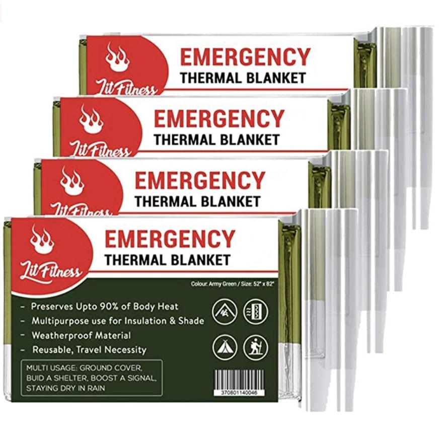 Emergency hiking equipment
